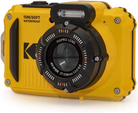 Rugged Waterproof Digital Camera 16MP 4X | Digital Cameras