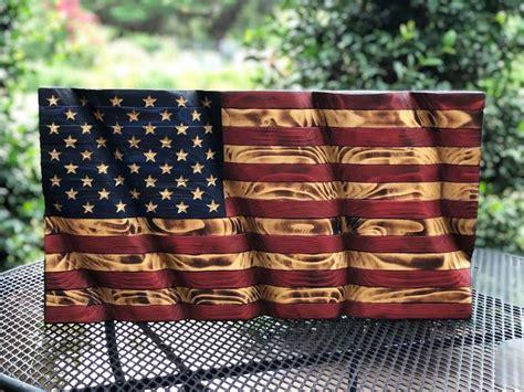 Rustic Flag Decor