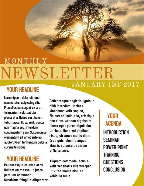 Sample-Newsletter-Templates