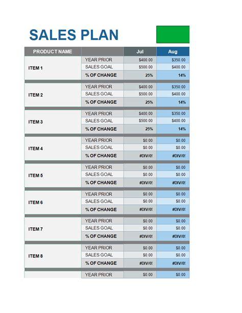 SampleSales-Plan-Template