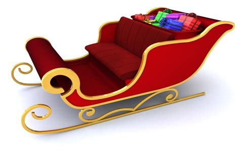 Santa-ClausSleigh-Template
