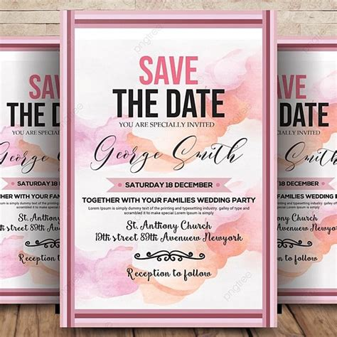 Save-the-DateFlyer-Templates-Free