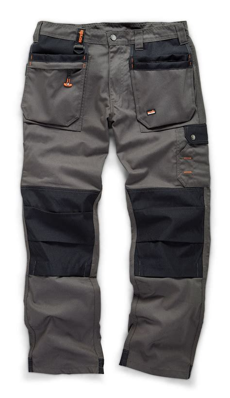 Scruffs Pro Work Trousers Grey | Gps Store