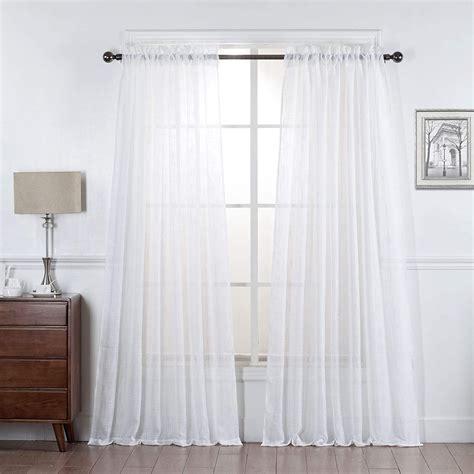 Sheer-LinenRod-Pocket-Curtains