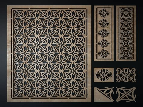 Sheet-Metal-Laser-Cut-Pattern