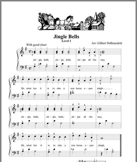 Sheet-Musicfor-Jingle-Bells-On-Piano