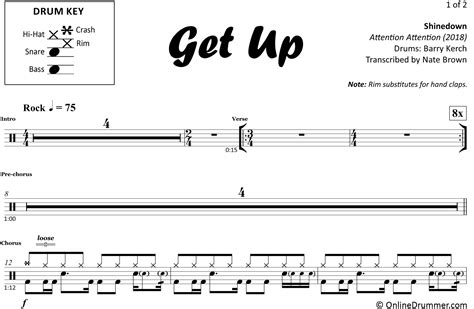Shinedown-Get-UpPiano-Sheet-Music