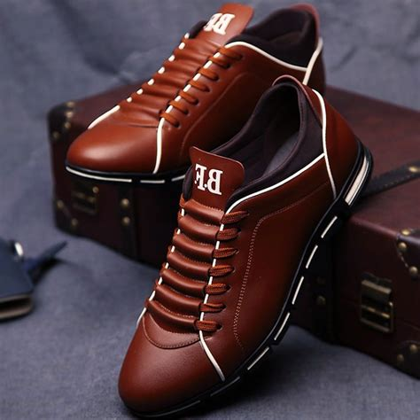 Shoes Fashion Leather Shoe Casual Sneakers | Gps Store