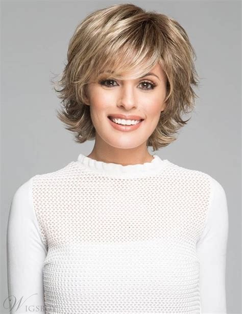 Short-Hairstyles-with-Bangsand-Layers
