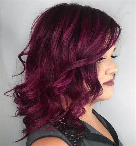 Short-Red-Hairwith-Purple-Highlights