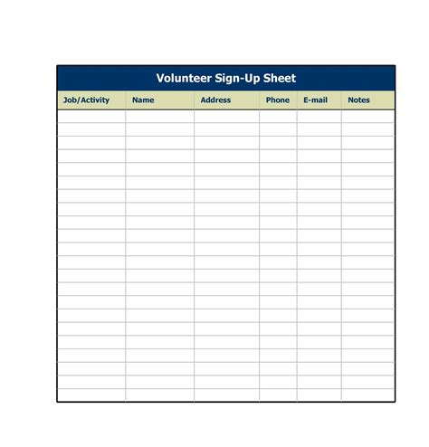 Sign-Up-Sheet-TemplateWord-Document