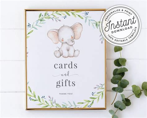 Signing-Baby-Shower-Cards