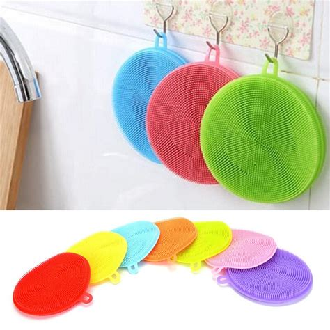 Silicone Dish Washing Sponge Scrubbers | Gps Store