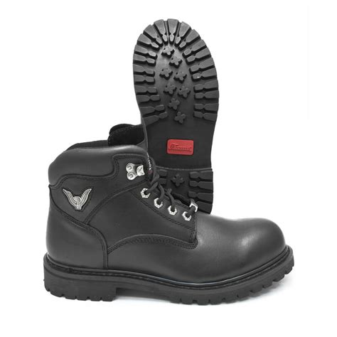 Slip Resistant Motorcycle Boots
