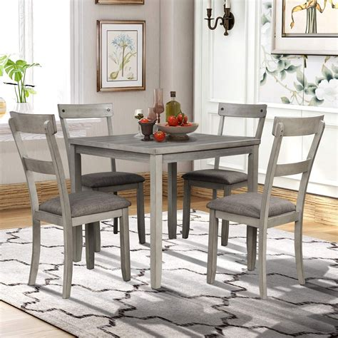 HD wallpapers tms shaker 5 piece dining set black