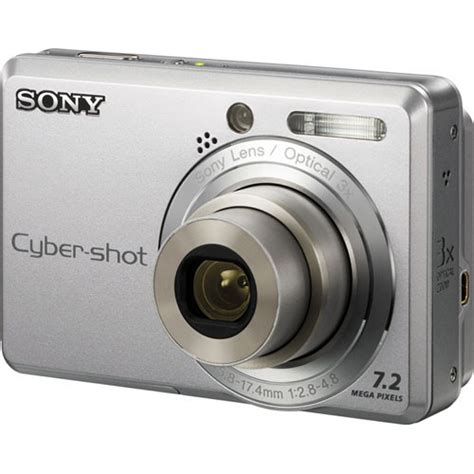 Sony Cyber shot DSC S730 7.2 MP | Digital Cameras