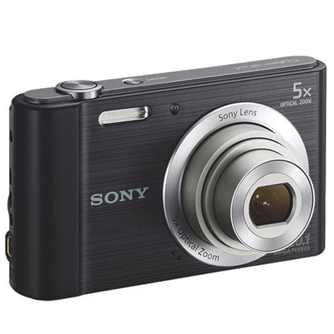Sony Cyber shot DSC W800 20.1MP Digital Camera 5x Optical Zoom Silver | Digital Cameras
