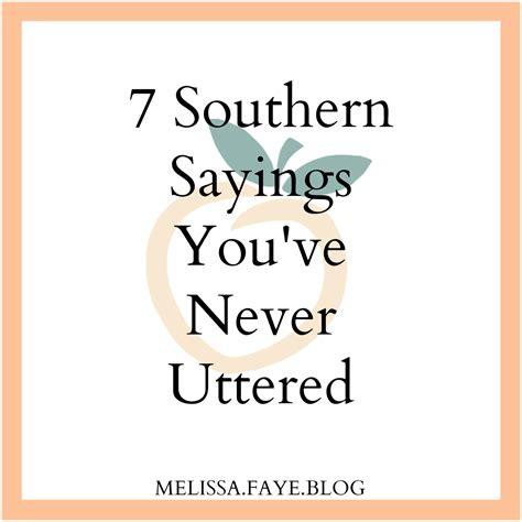 Southern-Sayings