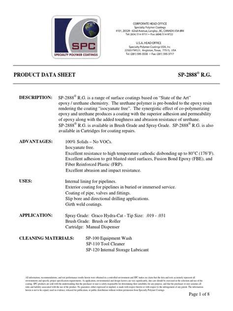 Spc-2888-Product-Data-Sheet