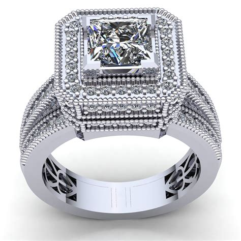 Split-Shank-PrincessCut-Engagement-Rings