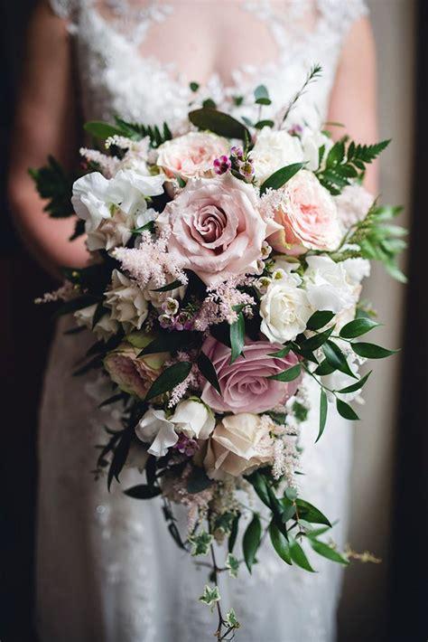Spring-CascadingWedding-Bouquets