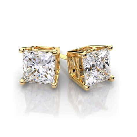 Square-DiamondStud-Earrings
