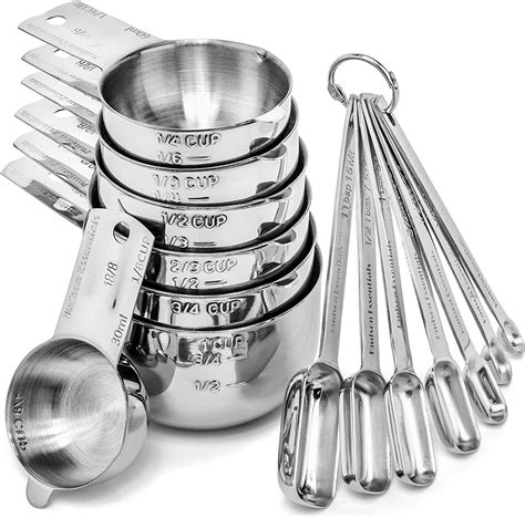 Steel Measuring Cup and Spoon Set | Watches Store Online Reviews
