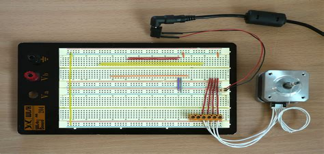 Stepper-MotorJoystick-Arduino
