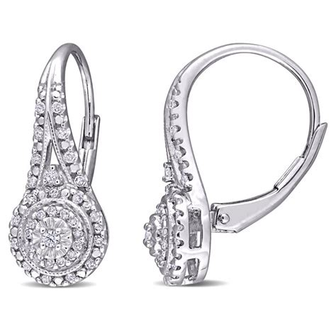 Sterling-SilverDiamond-Stud-Earrings