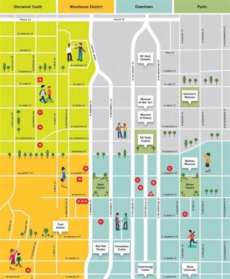 Street-Map-DowntownRaleigh-NC