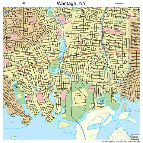 Street-Map-ofWantagh-NY