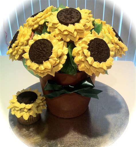 SunflowerCupcake-Bouquet