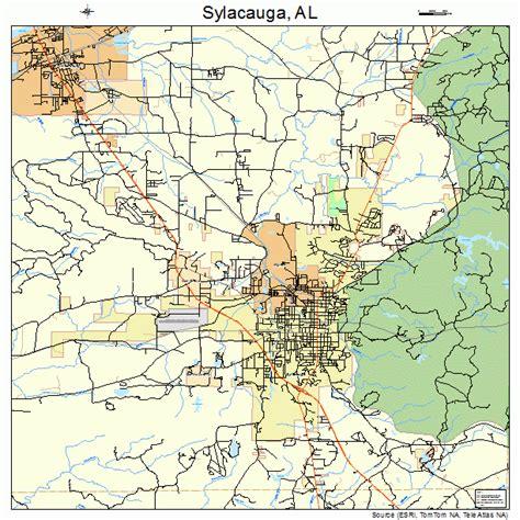 Sylacauga-AlTopo-Map