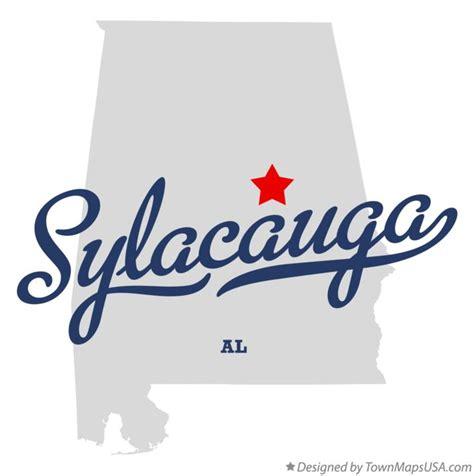 SylacaugaAlabama-Map
