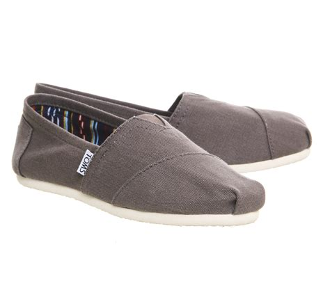 TOMS Women\'s Classic Canvas Slip Flats Shoes US Sizes Authentic Variety!!! | Gps Store