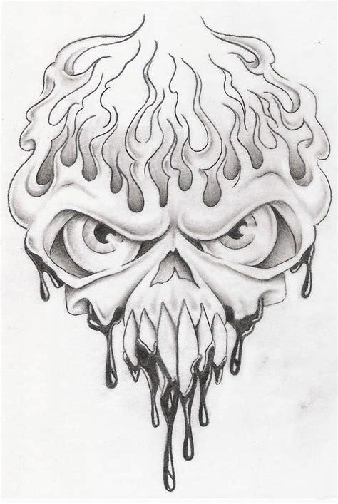 Tattoo Drawing Skull Art
