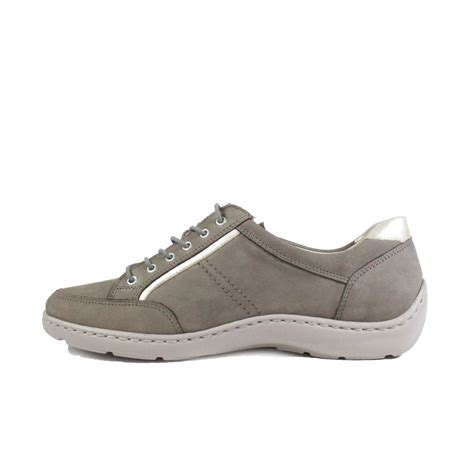 Taupe Nubuck Leather Lace Up | Gps Store