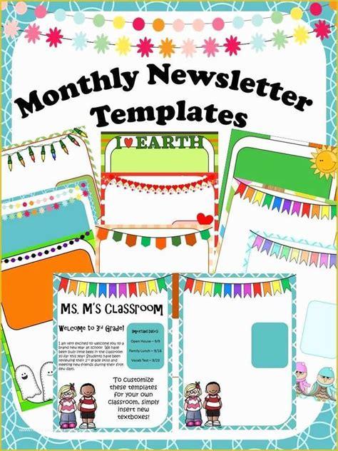Teacher-Newsletter-TemplatesFree