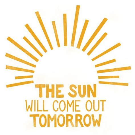 The-Sun-Will-Come-Out-TomorrowClip-Art