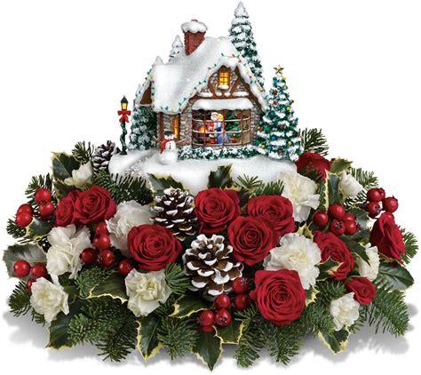 Thomas-KinkadeChristmas-Flowers