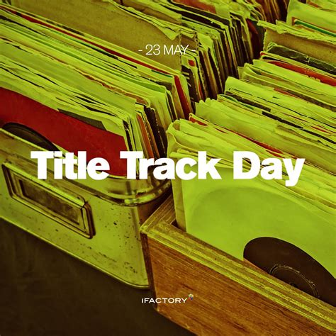 Title Track Day