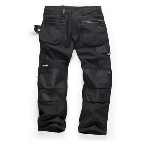 Trade Work Trousers SOLID BLACK | Gps Store