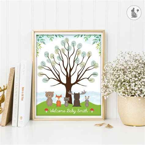 Tree-Signingfor-Baby-Shower
