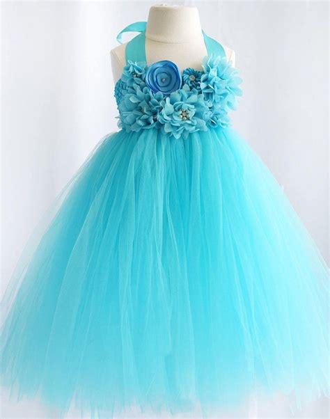 Turquoise-Flower-GirlDresses