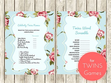 Twin-Baby-ShowerGames-Printable