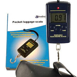 USSHIP Portable Pocket Digital Fish Hook Luggage Hanging Weighing Balance Scale | Watches Store Online Reviews