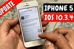 Update My iPhone 5