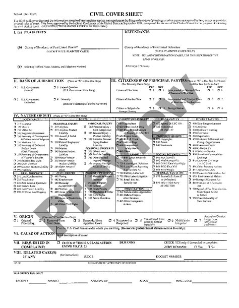 Us-District-CourtCivil-Cover-Sheet