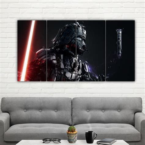 Vader HD Canvas Art Print (FRAMED | Watches Store Online Reviews