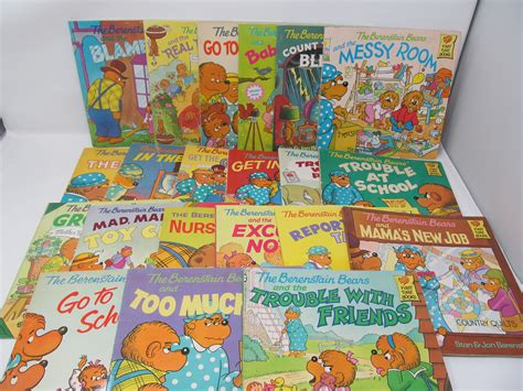Vintage Berenstain Bears Books Lot of 14 total 1981 1982 1983 1985 1986 1987... | Watches Store Online Reviews